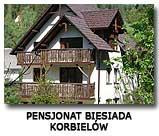 Pensjonat Biesiada Beskid Żywiecki Korbielów