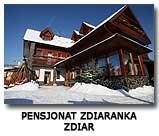Pensjonat Zdiaranka Zdiar Słowacja
